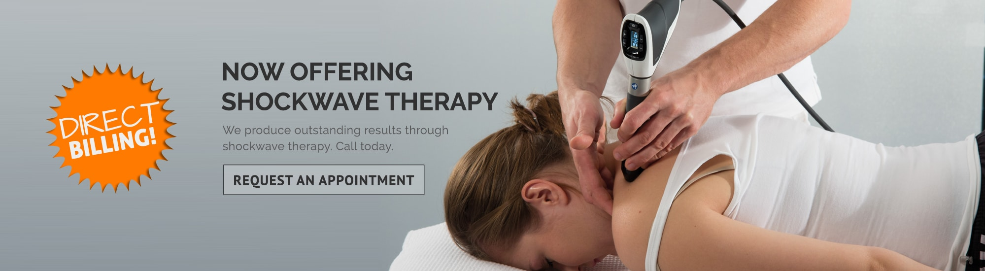 Shockwave Therapy in Red Deer AB